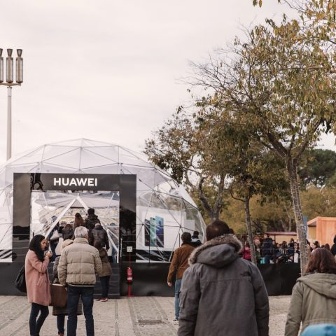 Huawei  —  Stand Wonderland Lisboa